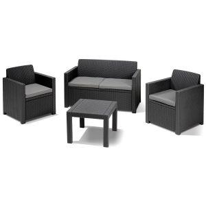 salon de jardin allibert comparer 34 offres. Black Bedroom Furniture Sets. Home Design Ideas