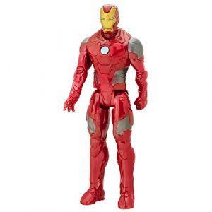 Hasbro Marvel Avengers Titan Hero Series - Iron Man Armure de Combat - Figurine 30 cm