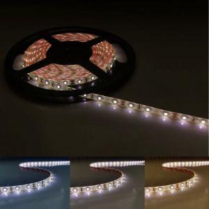 Silamp Ruban LED 12V 5M 2835 IP44 60LED/m - Blanc Froid 6000K - 8000K