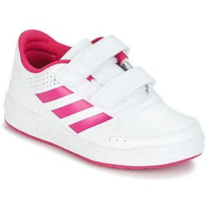 Adidas AltaSport CF, Chaussures de Fitness Fille, Blanc/Rose, Blanc (FTWR White/Bold Pink/FTWR White), 31 EU