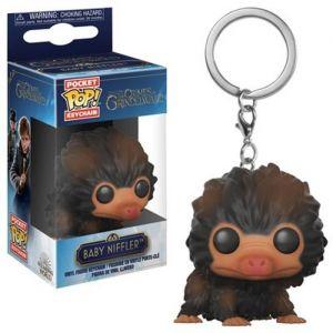 Funko Porte clé Pocket Pop! Les Animaux Fantastiques 2: Bébé Niffler (Marron)
