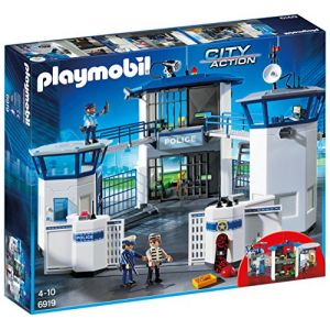 Image de Playmobil 6919 - Commissariat de Police avec prison