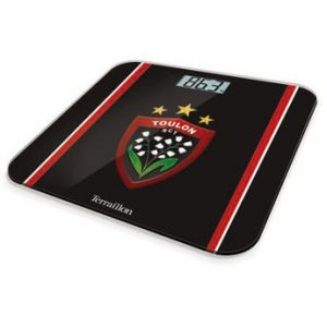 Terraillon 4238583 - Pèse-personne électronique Racing Club Toulon