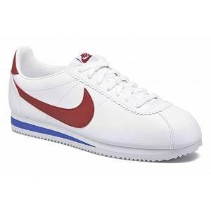 Nike Classic Cortez Leather chaussures blanc rouge bleu 40 EU