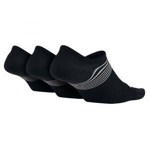 Nike Chaussettes de training Lightweight (3 paires) - Noir - Taille S - Female