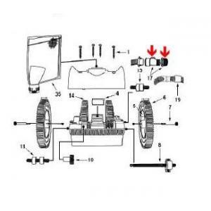 Procopi 1024503 - Prise pour paroi de robot Victor R300