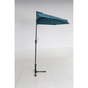 Demi parasol CUBA bleu pétrole