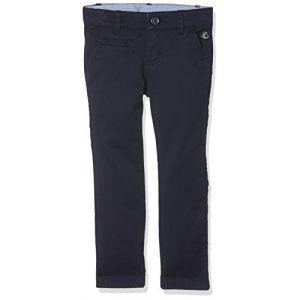 Petit Bateau Pantalon Pantalon Fille Bleu (Smoking) 8 Ans (Taille Fabricant: 8A) Lot de