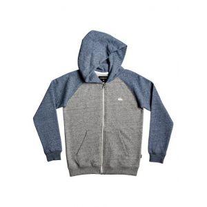 Quiksilver Sweat zippé à capuche Bleu