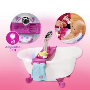 Zapf Creation Baignoire interactive Baby Born