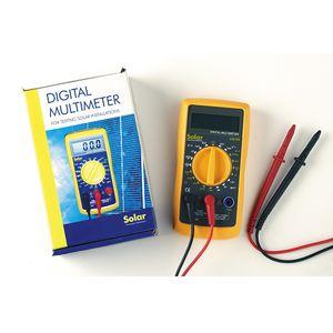 Solartechnology Multimètre avec écran digital