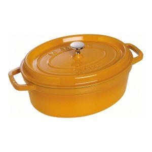 Staub 1102712 Cocotte Ovale Moutarde 27 cm