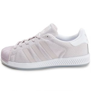 Adidas Superstar Bounce W, Sneakers Basses Femme, Rose (Ice Pur/Ice Pur/Ftwwht), 36 2/3 EU