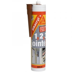 Sika Mastic cryl+ 300 ml acajou