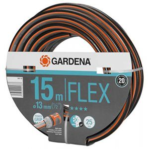 "Image de Gardena Tuyau Comfort Flex 9x9 13 mm (1/2"") 15 m m, Gris/Orange, 30 x 30 x 30 cm"