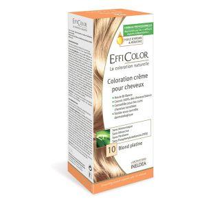 EffiColor Blond Platine N°10 - Coloration crème pour cheveux