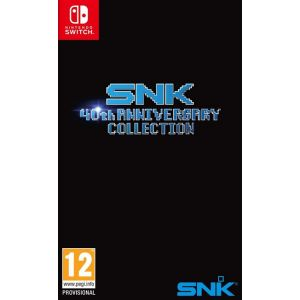 SNK 40th Anniversary Collection sur Switch