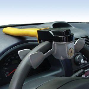 Heliotrade Antivol bloque volant barre de volant pour sécurité auto voiture