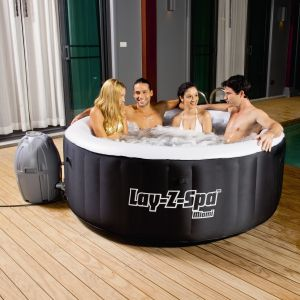 Bestway Spa rond gonflable Miami 2-4 places 180x65cm - Volume d'eau 80% 800L
