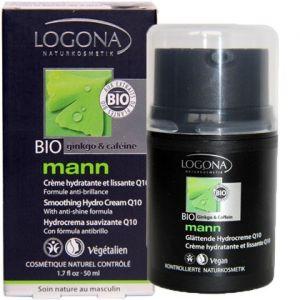 Logona Crème Hydratante et Lissante Q10 Mann