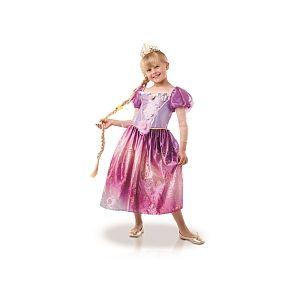 Rubie's Panoplie Disney Princesses Rainbow Raiponce + tresse