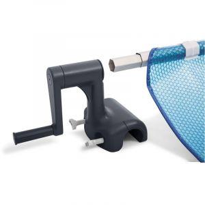 Intex Enrouleur + Bâche à bulles pour piscine tubulaire rectangulaire 9,75 x 4,88 m
