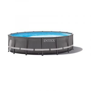 Intex Piscine tubulaire Ultra Frame XTR 4,27 x h1,22m