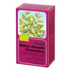 Salus Tisane Floradix Melisse Citronnelle Bio