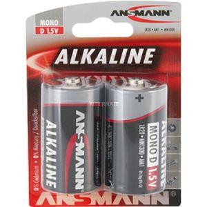 Ansmann Alcaline pile LR20 x2