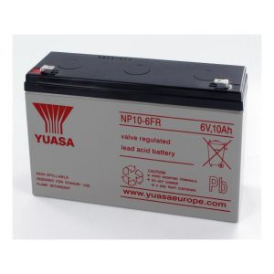 Yuasa Batterie Plomb 6V 10Ah NP10-6FR