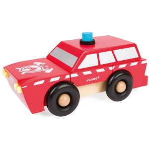 Janod Kit magnet Camion de pompier
