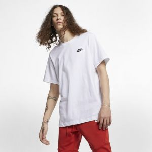 Nike Tee-shirt Sportswear Club pour Homme - Blanc - Taille S - Homme