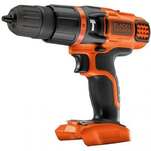 Black & Decker BDCH188N - Perceuse à batterie sans fil à percussion 18V