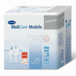 Hartmann Molicare Mobile, taille Medium - 14 slips absorbants