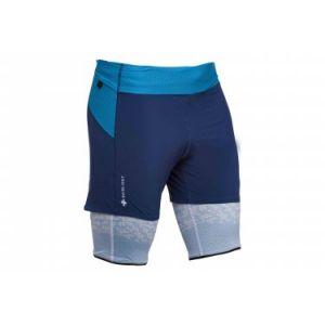 Raidlight Short Ultralight homme BLACK, BLUE - Taille S