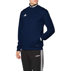 Adidas Team19 Track Jacket Veste de survêtement Homme, Team Navy Blue/White, FR : L
