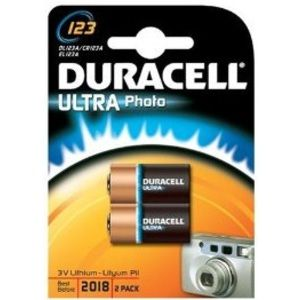 Duracell Pile DL 123 * 2