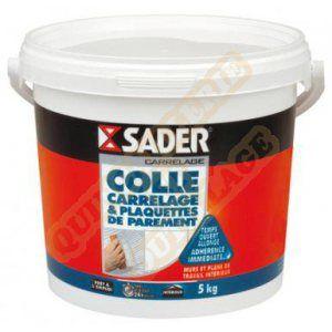 Sader Colle carrelage mural intérieur 5 kg