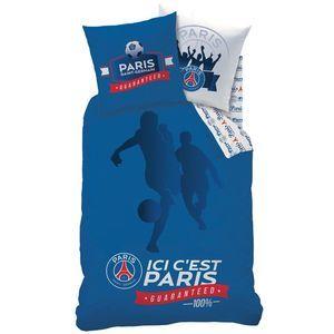 Parure housse de couette PSG Foot Ici c'est Paris (140 x 200 cm)