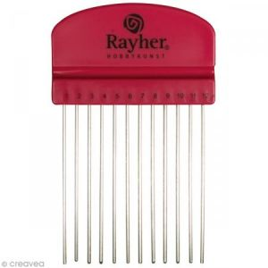 Rayher Peigne Quilling - 10,5 x 6,5 cm