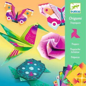 Djeco Jeu créatif Origami Tropiques