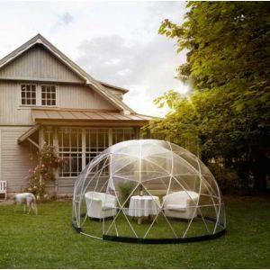 Mundus Abri jardin Garden Igloo 10m², Filet ombrage non