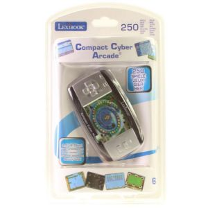 Lexibook Console compact Cyber Arcade 250 jeux