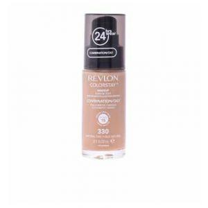 Revlon Colorstay N°330 Natural Tan - Fond de teint peaux mixtes à grasses