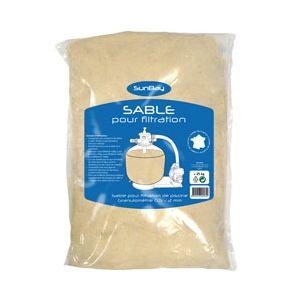 Sunbay Sac de 25 kg de sable de filtration