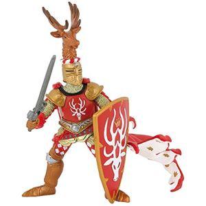 Papo Figurine Maître des armes cimier cerf rouge