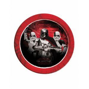 8 assiettes Star Wars 8 The Last Jedi 23 cm