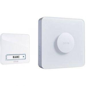 M-e Set complet pour Sonnette sans fil modern-electronics 41144 200 m blanc