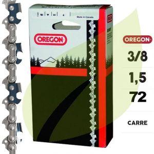 Oregon Chaine tronçonneuse 3/8 1.5mm 72 E 73LGX072E