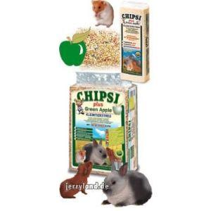 Chipsi Green Apple - Litière absorbante parfumée à la pomme verte